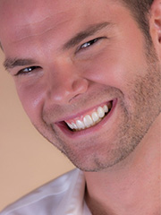 Man who whitened his teeth in Palm Harbor with Zoom teeth whitening.